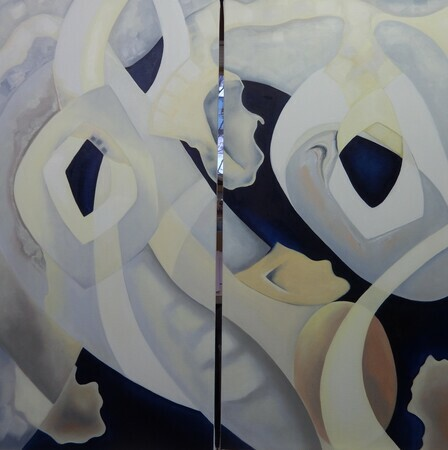 Possibilities Evolve:  diptych