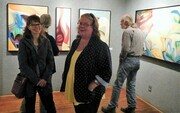 Guests at Station House Gallery